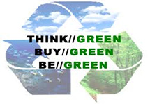 Think, Buy and BE GREEN
